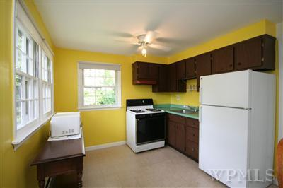 Rental apartment kitchen