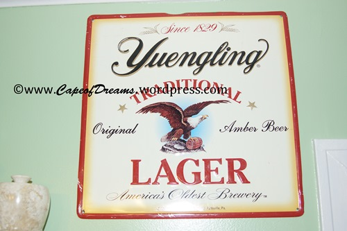 Tin Yuengling advertisement