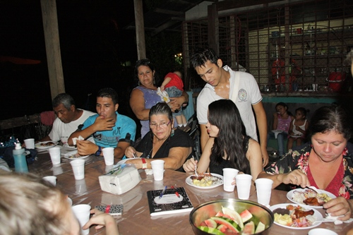 Good-bye party, Costa Rica