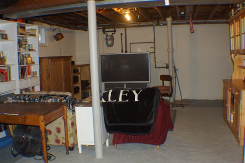 Cleaner basement