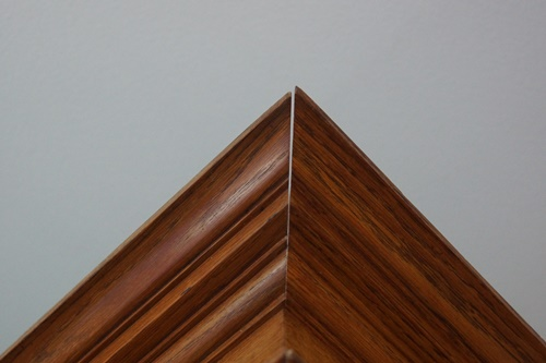 Crack in crown molding