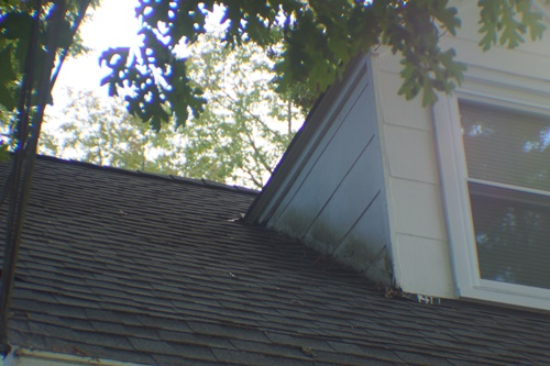 North side, north dormer before