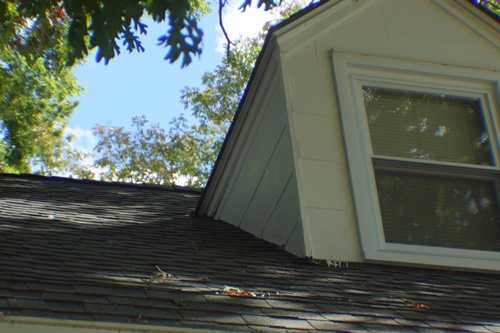 North side, north dormer after