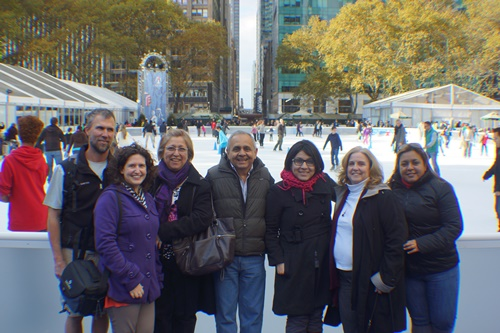 Family in New York