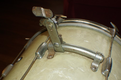 Rusty drum hardware