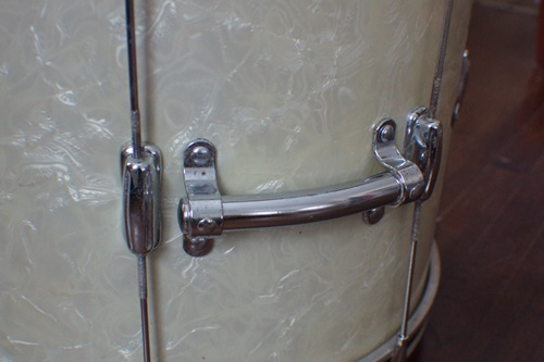 Polished drum hardware