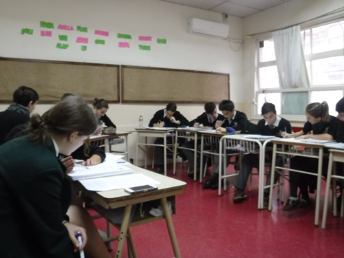 Visiting classes in Argentinaa