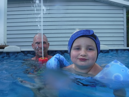Using our underwater camera