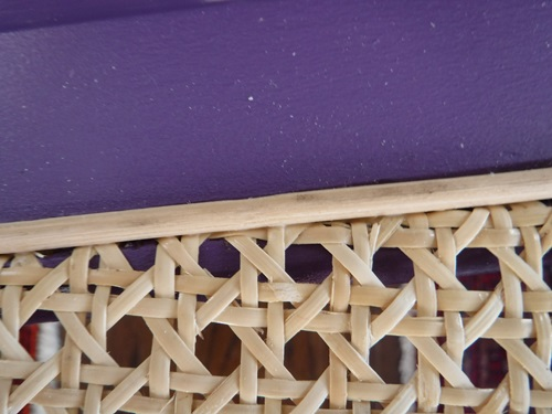 Caning a chair seat