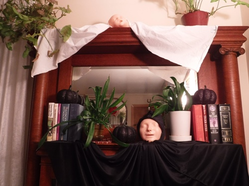 Halloween ghost decor