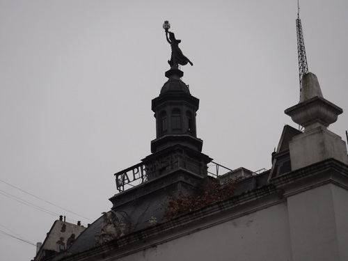 View from the Cabildo, Buenos Aires, Argentina