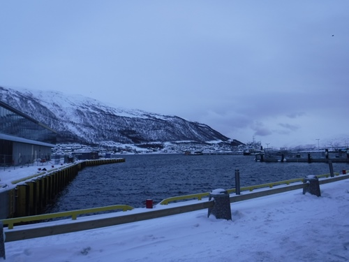 View from Clarion Hotel the Edge Tromso