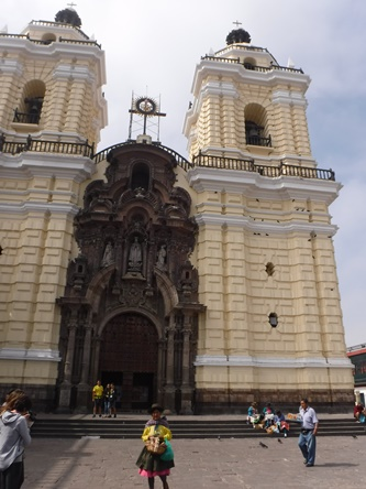 San Francisco Cathedral, Lima, Peru