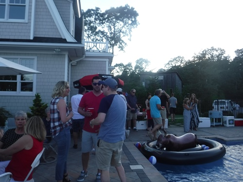 4th of July party in Hampton Bays