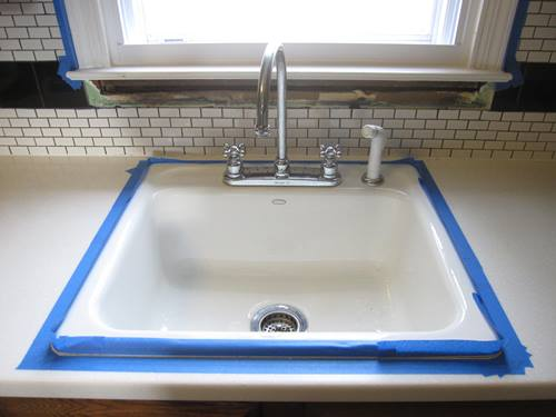 kitchen sink caulk caulking the kitchen cape of dreams 2609